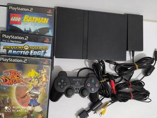 Playstation 2 Slim Jak And Daxter