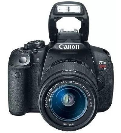 Câmera Digital Canon T5i Dslr Eos Rebel (frete Grátis)