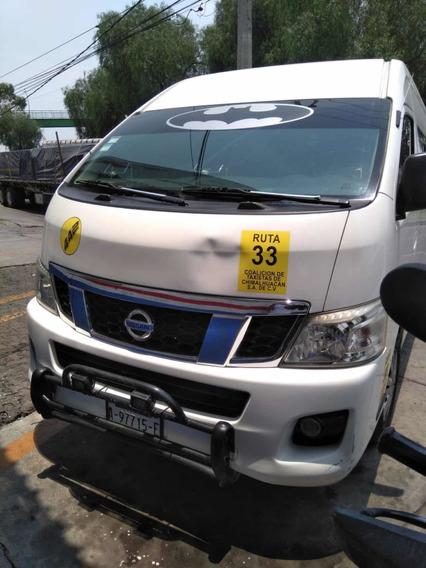 Nissan Nv350 Version De Lujo