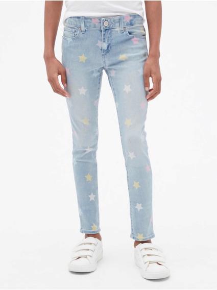 Pantalon Gap Mezclilla Estrellas Niña Talla 10 $399 Nuevo