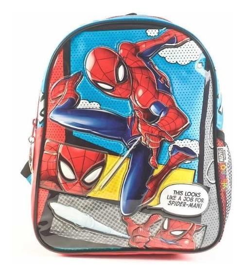 Mochila Spiderman Jardín 12