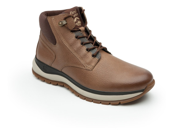 Bota Flexi Country Outdoor Caballero 401002 Taupe