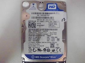 Hd 160gb Wd Scorpio Blue Wx61a6073030 *defeito