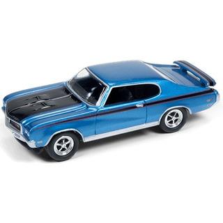 Johnny Lightning Muscle Cars R1b 1971 Buick Gsx Azul
