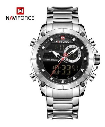 Relógio Naviforce Masculino Analógico E Digital Nf9163