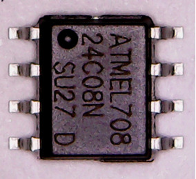 Memoria Eprom 24c08 - 3 Unidades