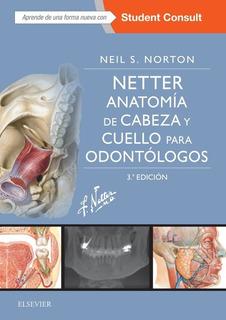 Envío Gratis. Netter. Anatomía Cabeza Y Cuello Odontólogos