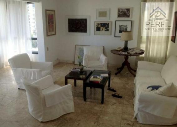 Apartamento Para Locação Em Salvador, Graça, 3 Dormitórios, 3 Banheiros, 3 Vagas - 280