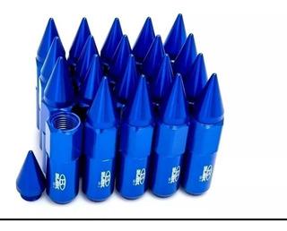Lug Nuts Blox 12x1.25 Tuercas De Ruedas Anodizadas Con Punta