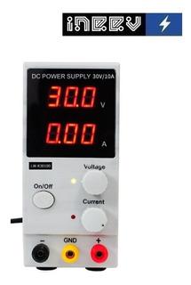 Fuente De Voltaje Regulable 0 - 30v / 0 - 10a Lw-k3010d