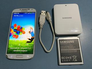Celular Samsung Galaxy S4 Gt, C/2 Baterias, Cargador Y Cable