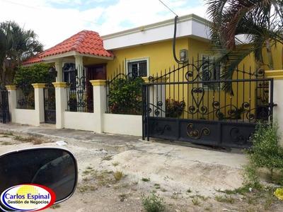 Casa De Alquiler En Higuey, República Dominicana Agl023