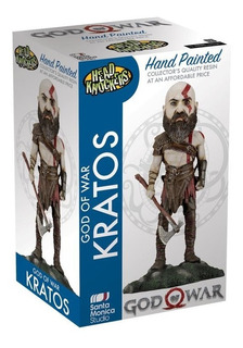 Neca God Of War Kratos Head Knockers