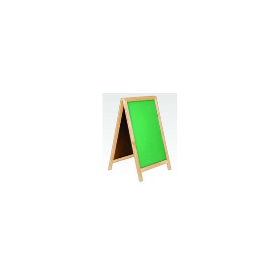 Cavalete Gourmet Lousa Quadro Verde Madeira Foodtruck 100x60