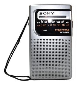 Radio Portátil Am/fm Sony Icf-s10mk2 Silver