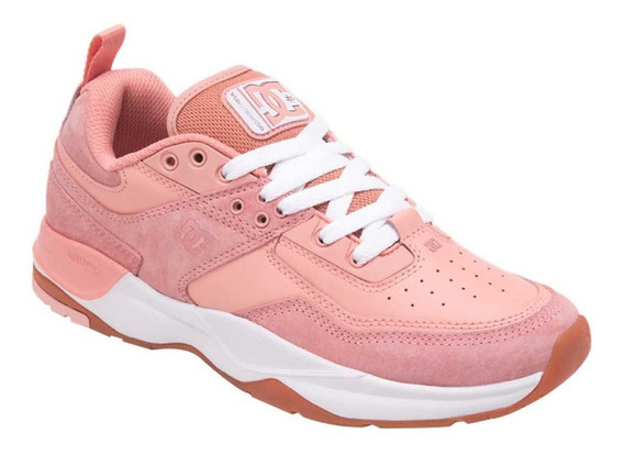 Tenis Casual Dc Shoes E.tribeka Se 5crl Color Rosa