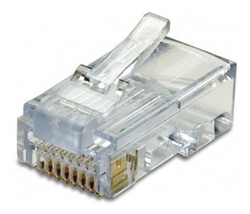 Conectores Rj45 Cat6, Cable De Red, Cable De Internet 50 Und