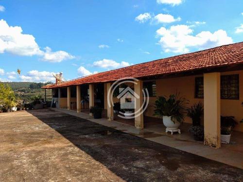 Imagem 1 de 30 de Sítio Com 6 Dormitórios À Venda, 48400 M² Por R$ 1.950.000,00 - Chácaras Berro D Água - Itu/sp - Si0003