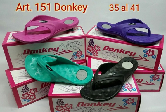 Ojotas Damas Art.151 Donkey Oferta !!! 35 Al 41 Nesport