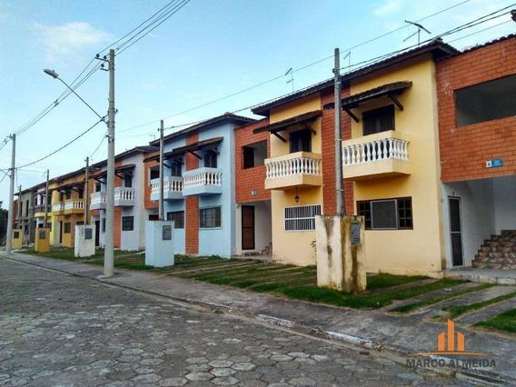Casa Com 2 Dormitórios À Venda, 56 M² Por R$ 179.000 - Jardim Belas Artes - Itanhaém/sp - Ca0220