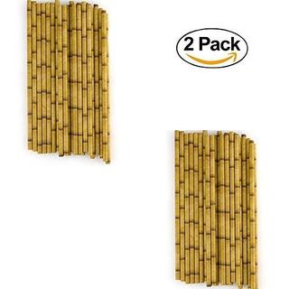 Pajitas De Papel De Bambú (paquete De 48) 7 3/4 (48)