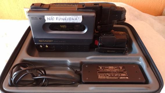 Câmera Filmadora Vhs Sharp