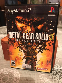 Metal Gear Solid 3 Snake Eater Para Ps2