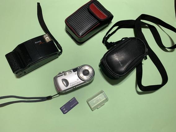 Câmera Digital Sony - 4.1 Mega Pixel + Brinde Kodak Usadas