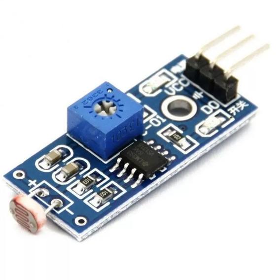 Módulo Sensor De Luminosidade Luz Ldr Arduíno Rasp Pic Autom