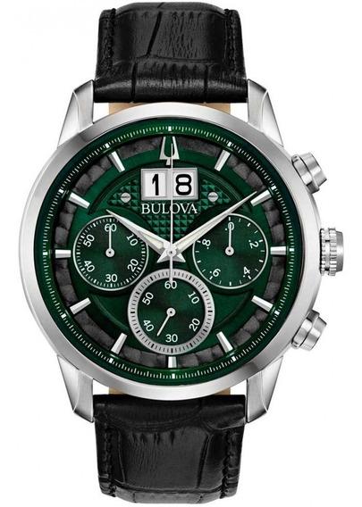 Relógio Bulova Masculino Cronógrafo Sutton 96b310