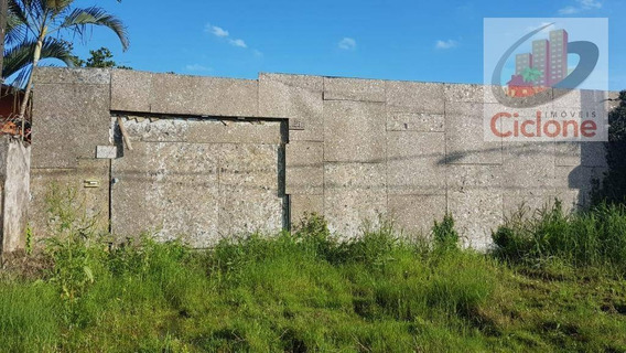 Terreno À Venda, 372 M² Por R$ 85.000 - Cibratel I - Itanhaém/sp - Te0141