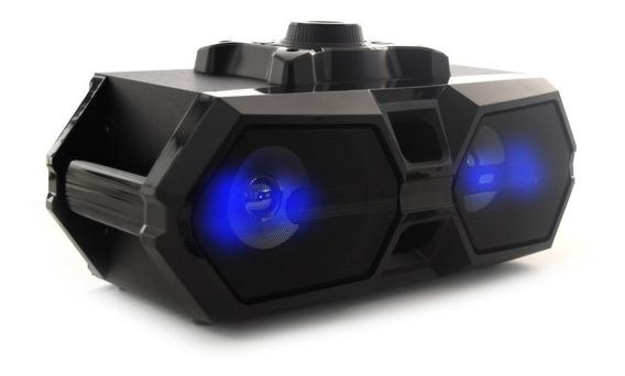 Bocina Doble Portátil Bluetooth Sistema De Audio Profesional Alta Calidad Usb Daewoo
