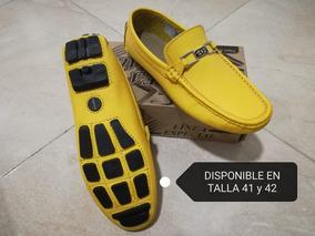 Zapatos Mocasin Amarillo