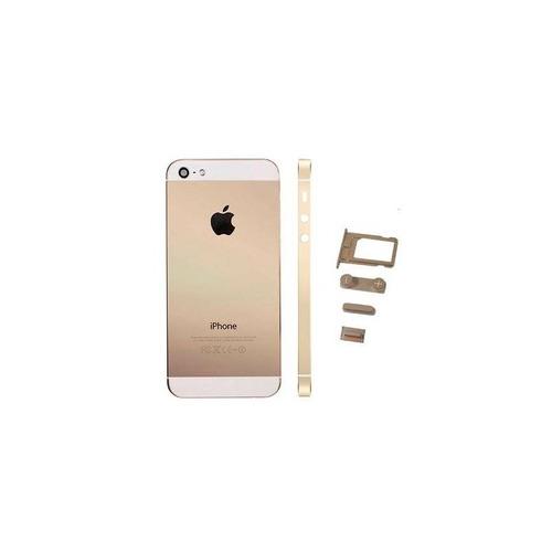 Imagen 1 de 2 de Carcasa Tapa Trasera iPhone 5 5g Dorado Nuevas Remate