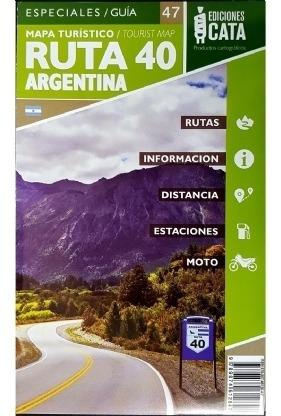 Imagem 1 de 3 de Mapa Rodoviário Ruta 40 Argentina