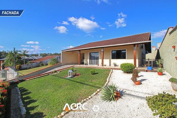Acrc Imóveis - Casa Semi Mobiliada Com Amplo Jardim Para Venda No Bairro Itoupava Central - Ca01417 - 68178619