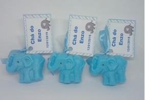 100 Lembrancinhas Chá De Bebê Sabonete Elefante
