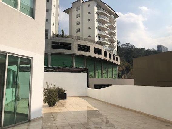 Garden House Con Amplia Terraza En Fraccionamiento Lomas Del