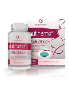 Cellushock Nutrame Cosmobeauty 60 Caps Anticelulite