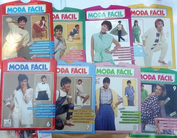 Moda Fácil - Modelos E Moldes - 16 Fascículos - 1985