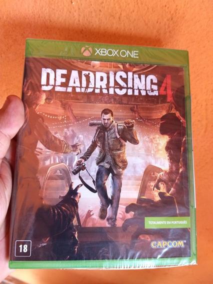Dead Rising 4 Xbox One Novo Lacrado Mídia Física