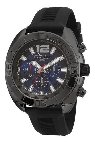 Relógio Condor Masculino Cronógrafo Silicone Covd54ap/8a