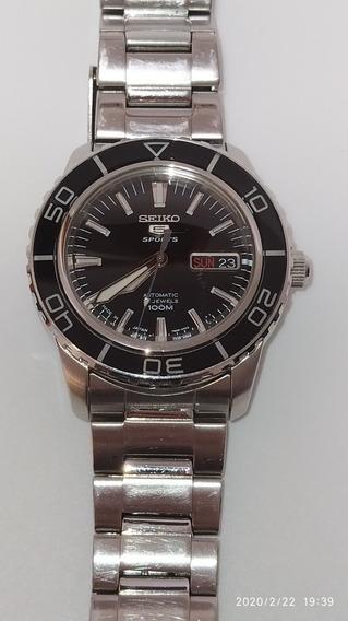 Relógio Automático Seiko Snzh53k1 Sports Dive