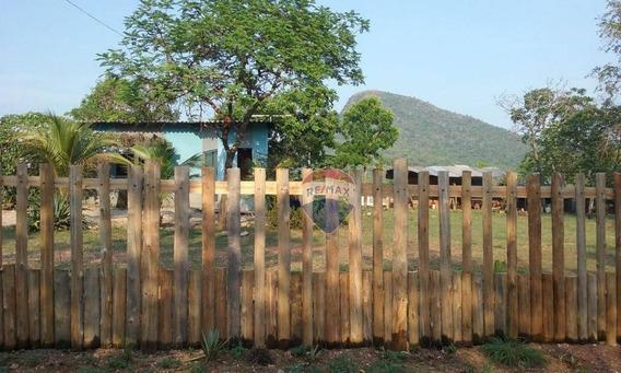 Casa Com 2 Quartos, 1 Suíte, À Venda No Vale Da Bocaina- Santo Antônio De Leverger. - Ca0743