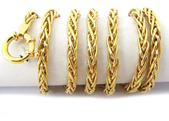 13544 Corrente Masculina 60 Cm Em Ouro 18k-750