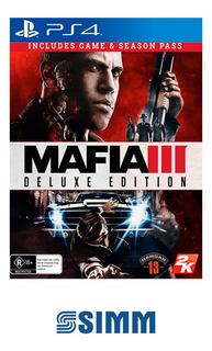 Mafia Iii 3 - Ps4 Físico Nuevo Original