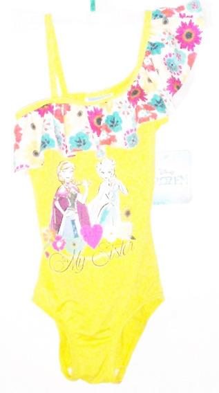 Traje De Baño Para Niñas Frozen Elsa Y Ana Baby Bikini $399a