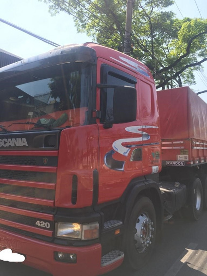 Scania 124 420 6x4 2001 + Bitren Randon 2001
