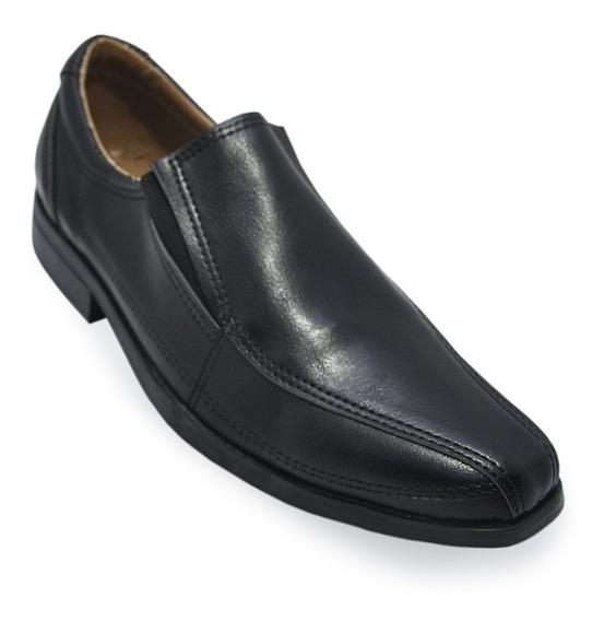 Zapato De Vestir Niño Sin Cordon Fiesta Moda Fiesta