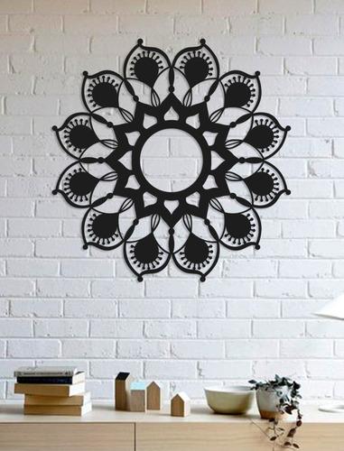 Imagem 1 de 2 de Quadro Decorativo Parede Esotérico Mandala 07 90cm